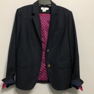 Vineyard Vines Blazer Size 8 Dark Blue